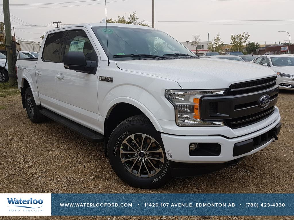 new 2018 ford f 150 xlt supercrew 145 4 door pickup in edmonton 8sc0992 waterloo ford. Black Bedroom Furniture Sets. Home Design Ideas