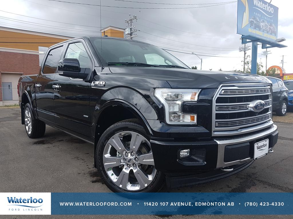 new 2017 ford f 150 limited supercrew 145 4 door pickup in edmonton 7sc7714 waterloo ford. Black Bedroom Furniture Sets. Home Design Ideas