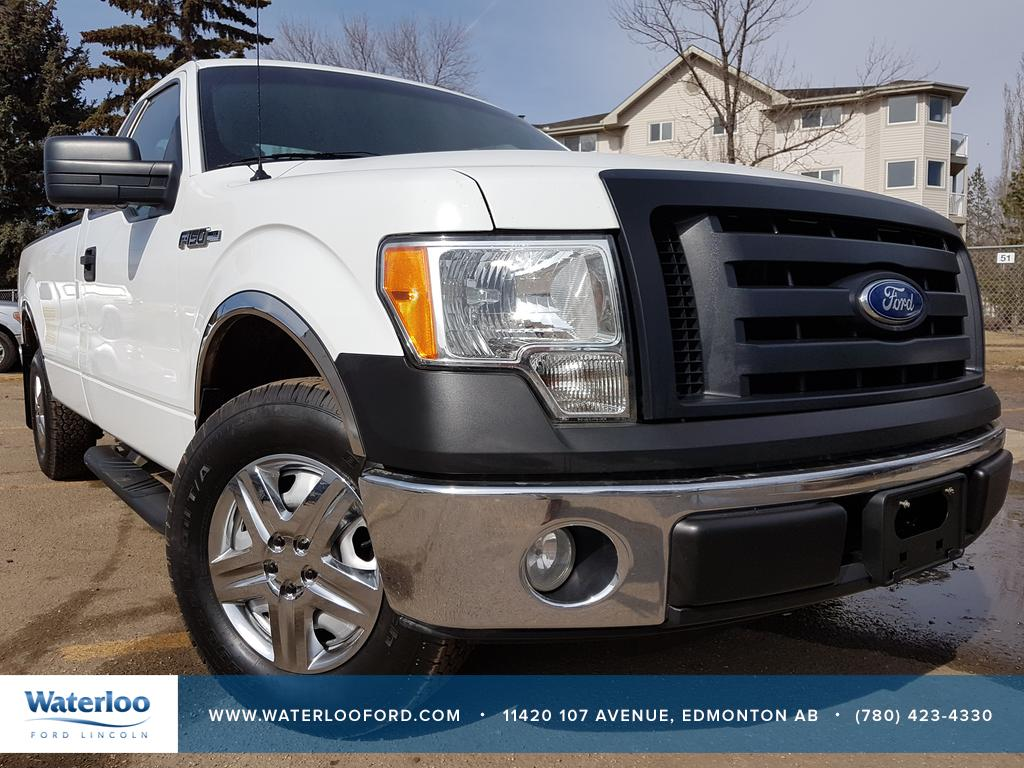 pre owned 2010 ford f 150 xl regular cab 2 door pickup in edmonton 5298b waterloo ford. Black Bedroom Furniture Sets. Home Design Ideas